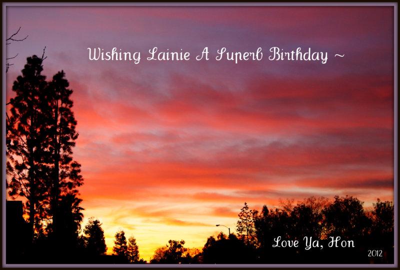 Happy B-Day Lainie