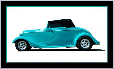33 Ford Cabriolet ~ ZZ Top Style!