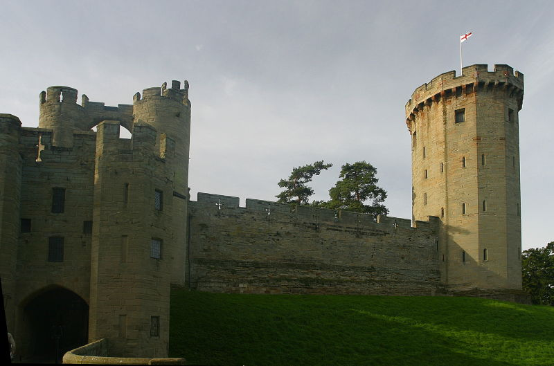 Warwick Castle Gate House and Guys Tower
