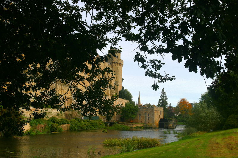 Outer Wall of Warwick Castle