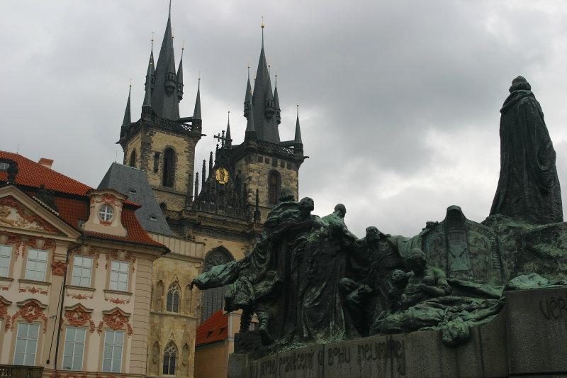 The Jan Hus Monument