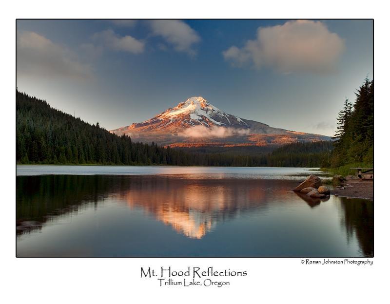 Mt. Hood at Trillium Lake.jpg (Up To 24 x 36)