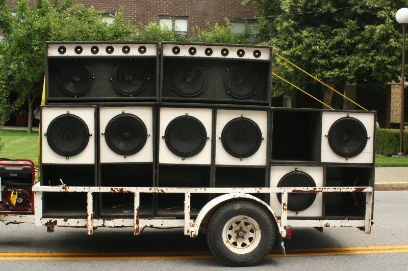 Loud Sound System