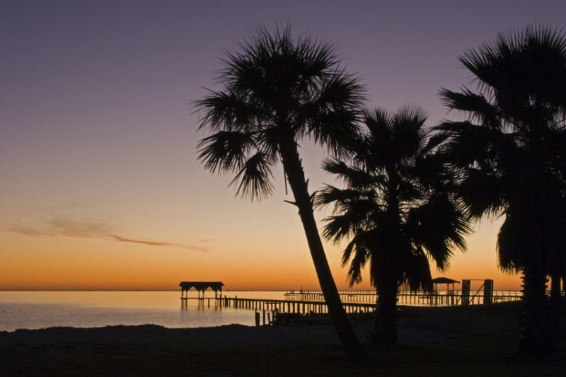 Sunrise Pier:  Fulton Beach Road_Rockport(Just behind Statue of Mary)
