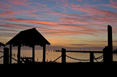 Cabana Sunrise, Table for Two:  Fulton Beach Road_Rockport