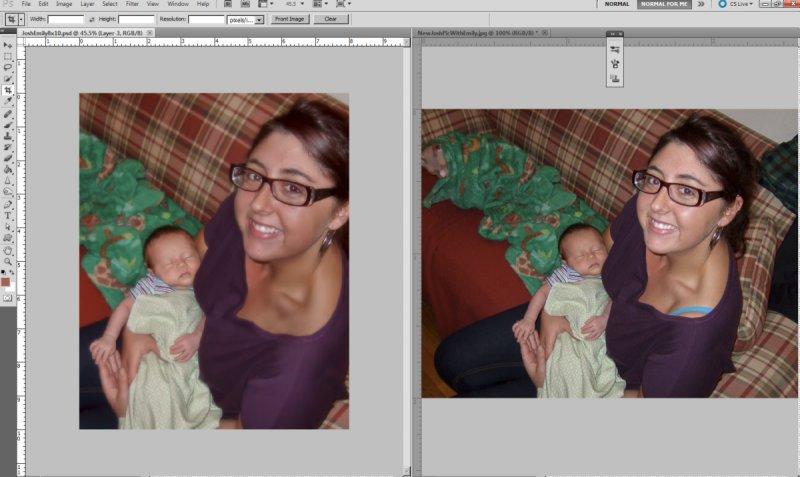Reworking of Double Portrait