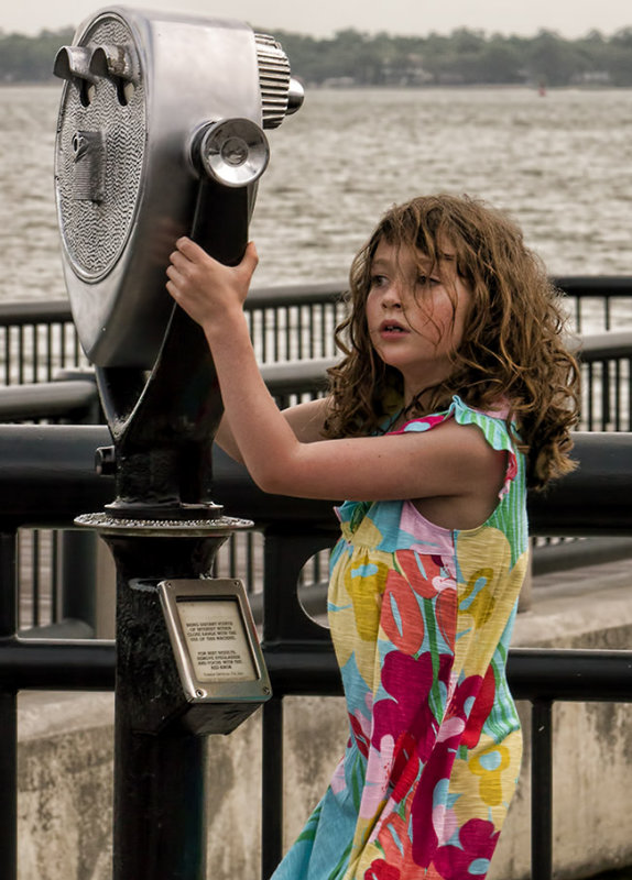 P1030984 Girl at waterfront