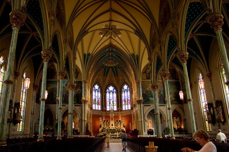 _MG_1115 Restored Church Interior