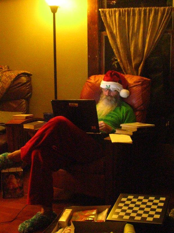Santas Christmas Eve
