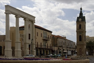 Renovated Entrance to Jaffa