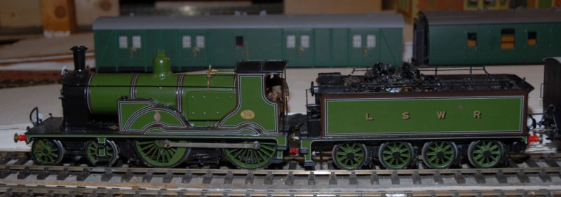 714 of the London and South Western Railway.