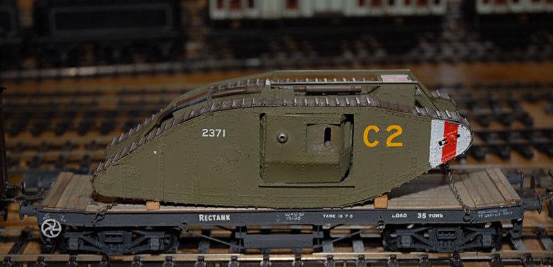 WW1 tank load.