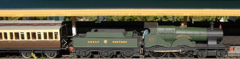 4171 Armstrong at Reading sidings.