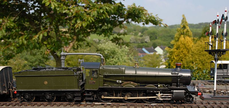 Gwenddwr Grange waits for the all clear signal.