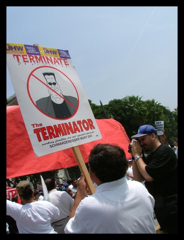 TERMINATE THE TERMINATOR