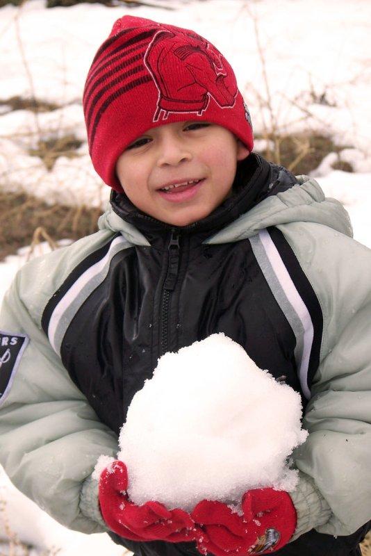 Angels Snow Ball
