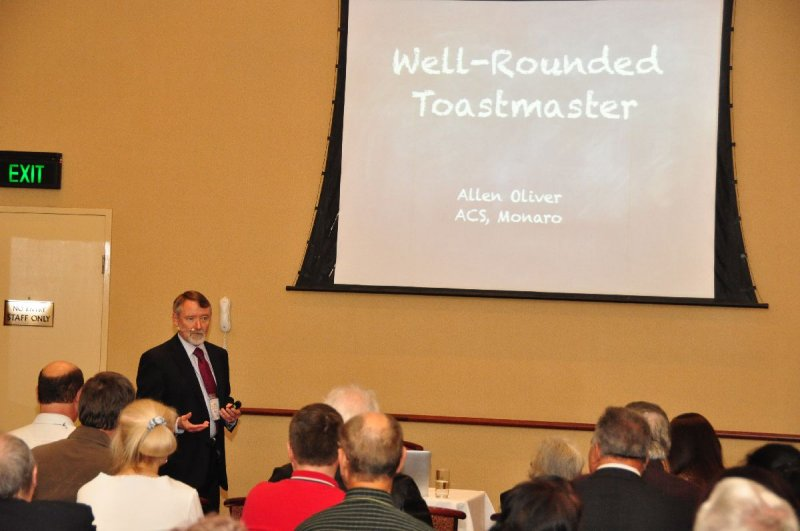 Session B : The Well Rounded Toastmaster - Allen Oliver ACB
