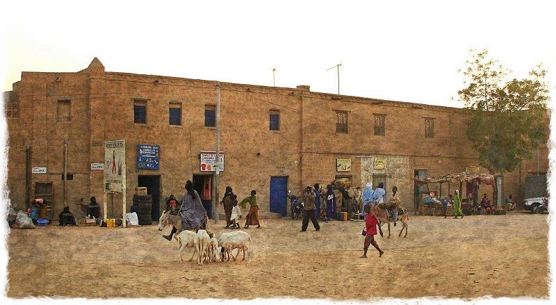 Timbuktu downtown