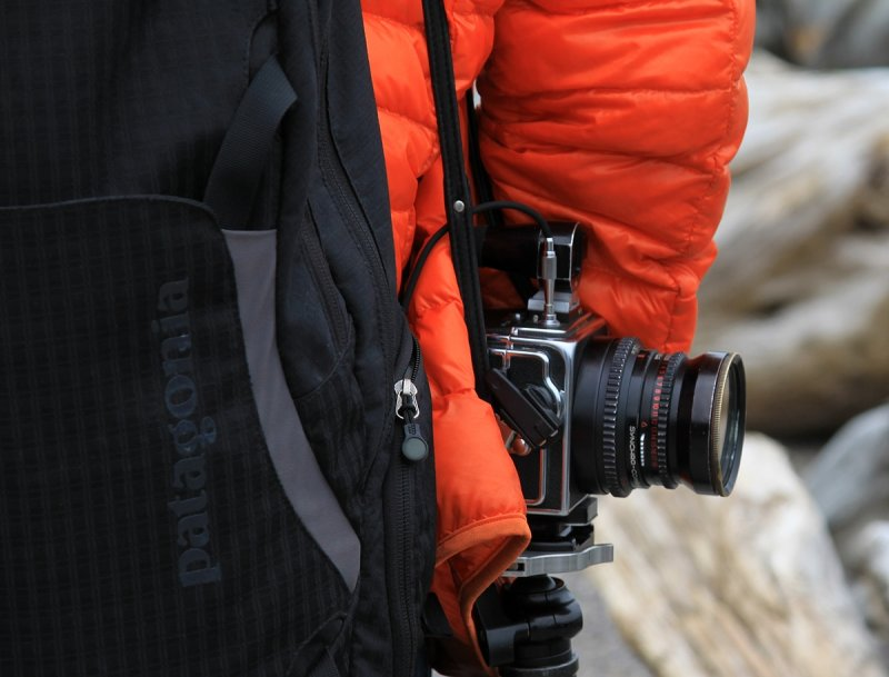 Another mans camera, Strahan, Tasmania.