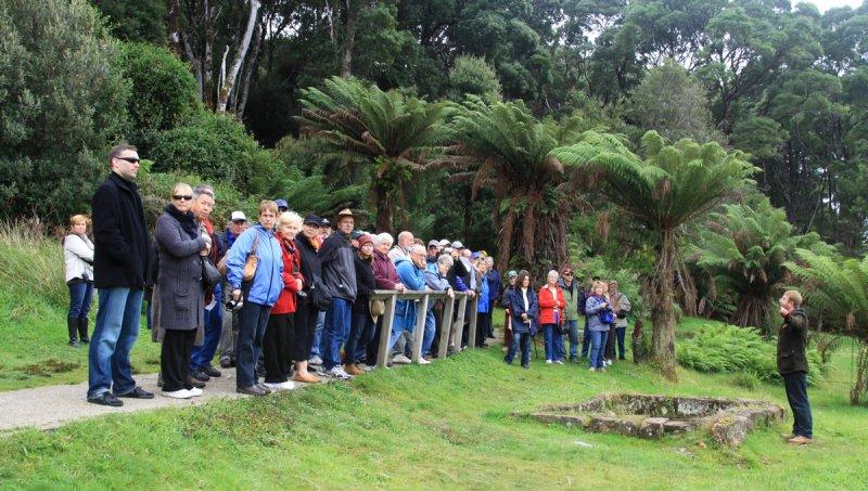 Sarah Island  - home of the convicts, Tasmania.
