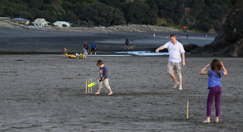 New Zealand Cricketer in the making....