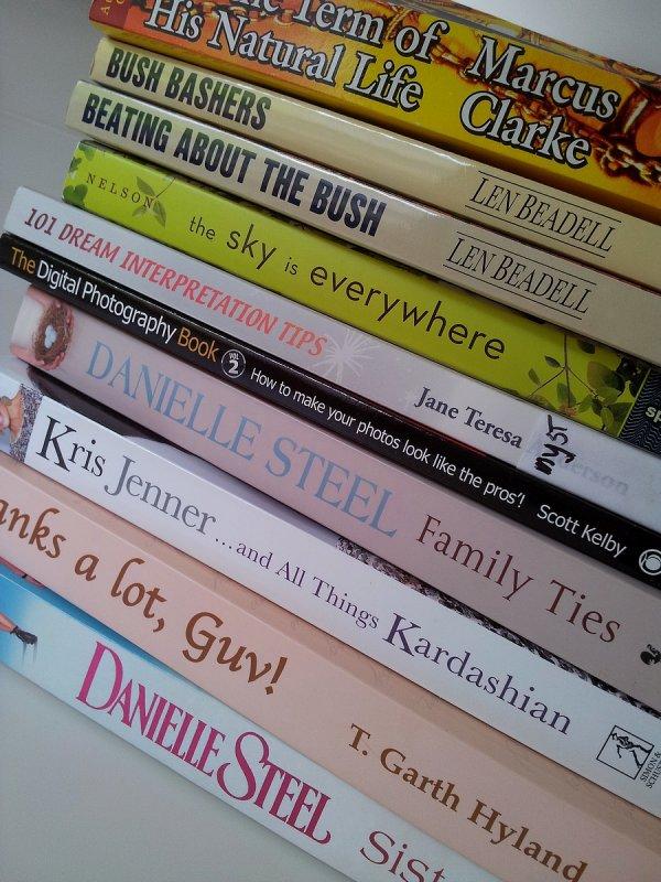 Books I should be reading !