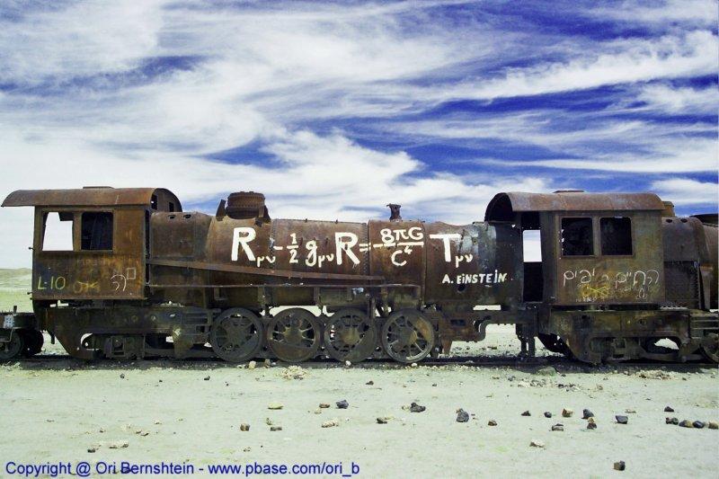 The Train Cemetery  ,Uyuni , Bolivia , 2001