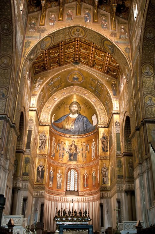 Monreale Cathedral interior 3