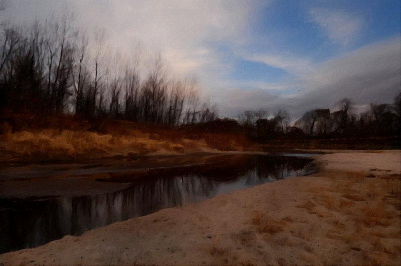 Grand River Near Elam Bend