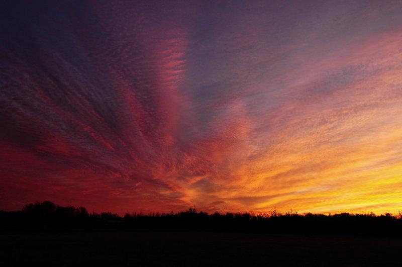 Sunrise Cloud Formations