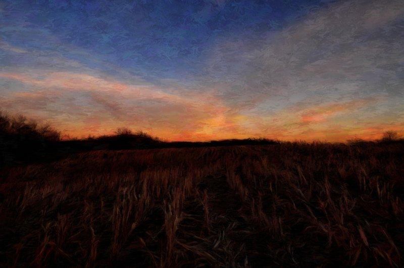 Twilight at Elam Bend