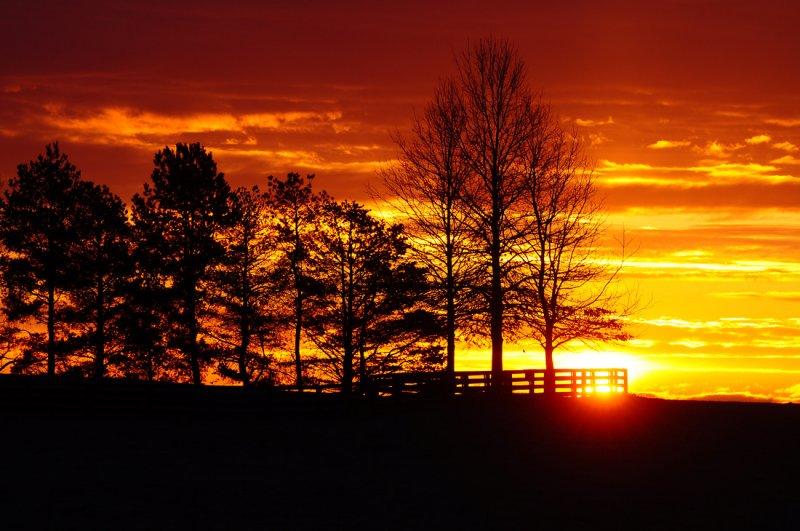 Sunrise East of Albany