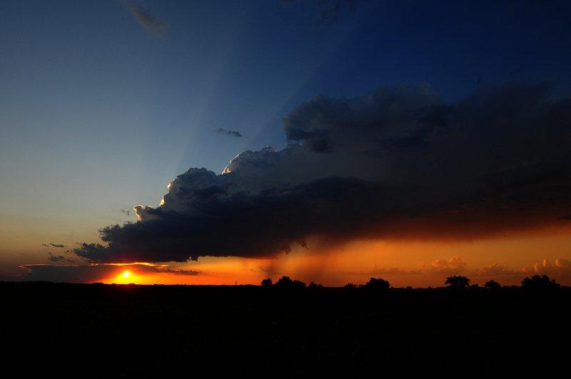 Sunset Storm Vista