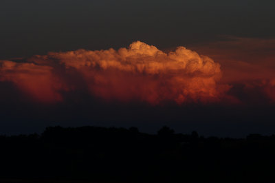 Storms at Sunset