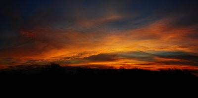 December Eve Sunrise