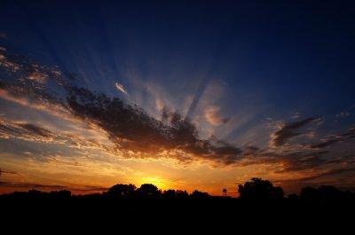 Morning Crepuscular Rays