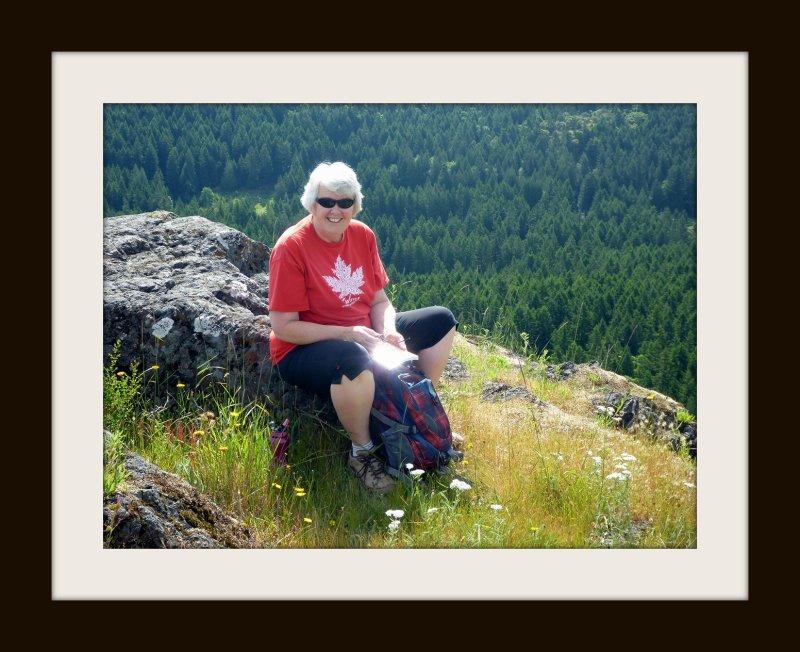 Debi at Lone Tree Hill Summit