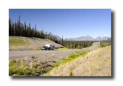 Camping in the Yukon