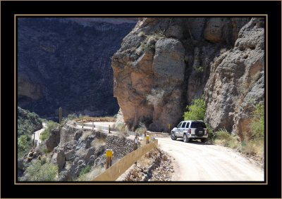Winding Along the Apache Trail