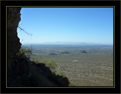 Panorama West From Wind Cave