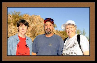 Jean, Greg and Debi