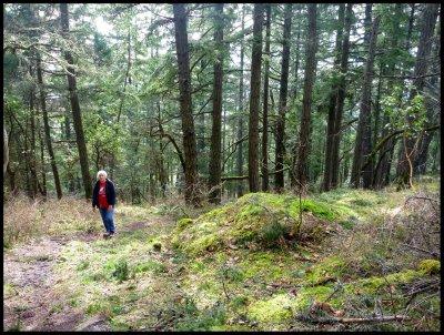 Deb on Gail Wicken's Trail 1