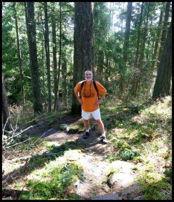 Kim on Pickles' Bluff Trail 5