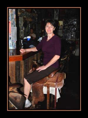 Diane in the Saddle