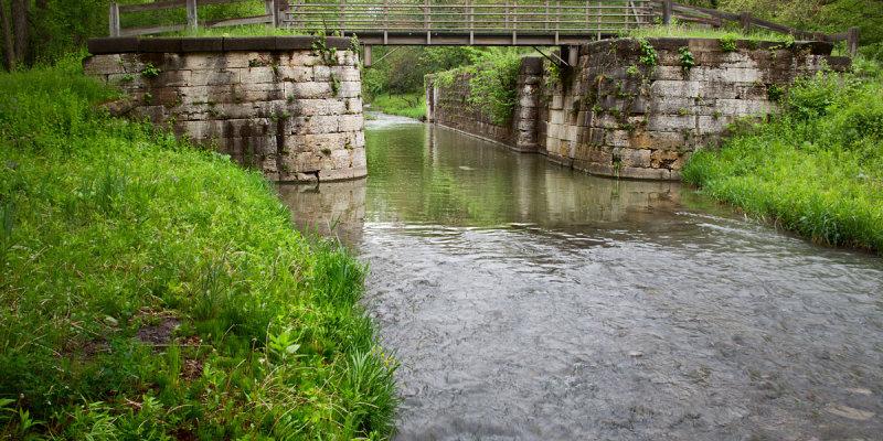 Lock, Downstream