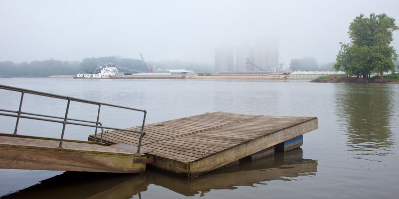 Fog at Hennepin