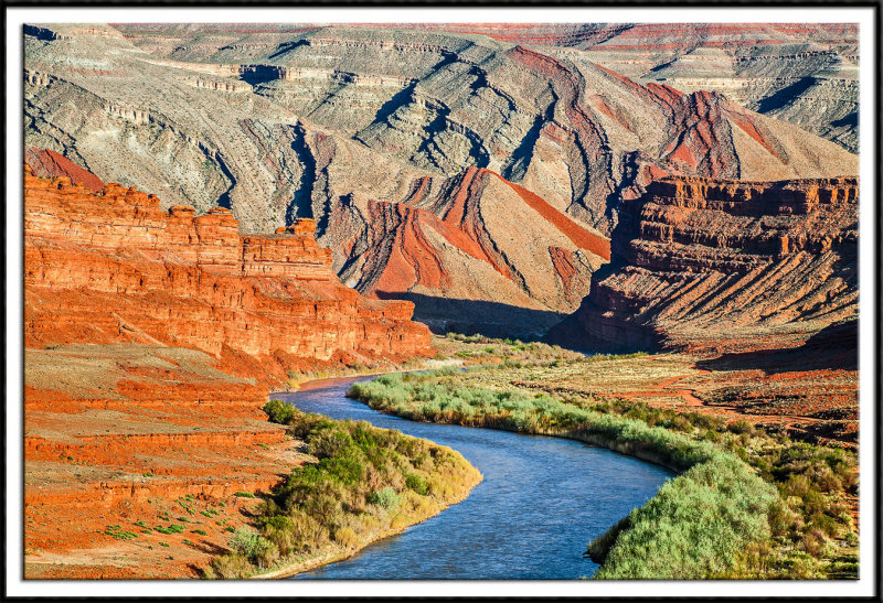 The San Juan River and Raplee Anticline