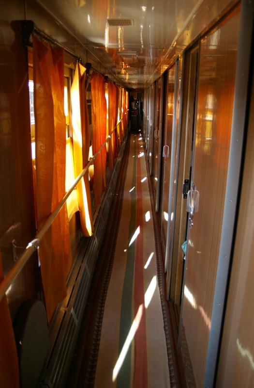 Latvian train car