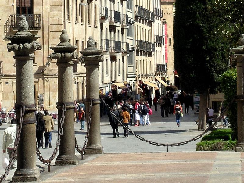 Plaza de Anaya, desde la Catedral