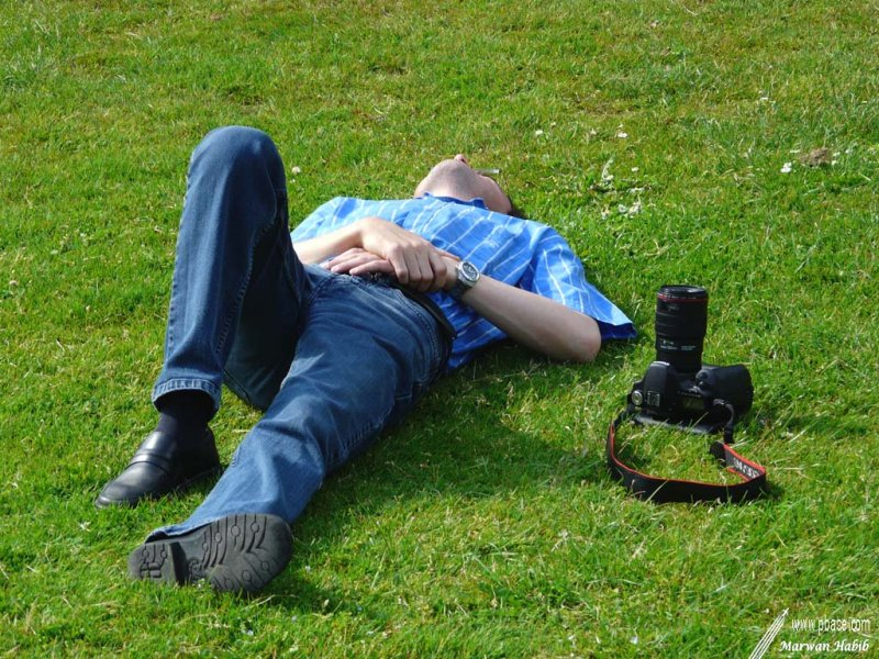 28-05-2012 : Photograph at work / Photographe au travail